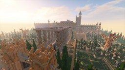 Chahkgri Palace - A Palace of Sands Minecraft Map & Project