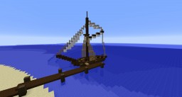 Small Sailboat Minecraft Project