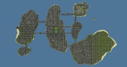 Miniature Island City Minecraft