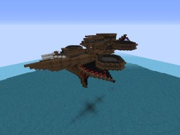 Concept Morrkean Scout ship Minecraft Map & Project