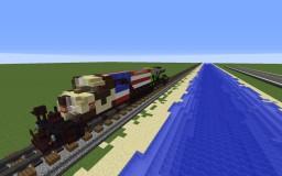 ES44AC [REMAKE] Minecraft Map & Project