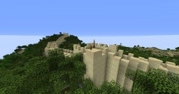 Geographically and Topographically Accurate Minecraft The Great Wall of China Minecraft Project
