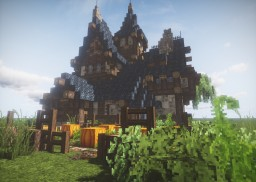 Medieval Townhouse #1 Minecraft Project