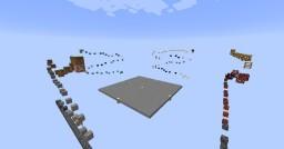 2D Parkour Minecraft Map & Project