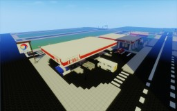 [Modern] Fuel Station / Gas Station Minecraft Project