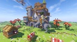 Black Bulls Base -=-Black Clover-=- Minecraft Project