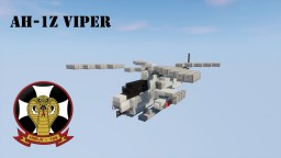 Bell   AH-1Z Viper 1,5:1 USMC Minecraft Map & Project