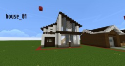 Houses Minecraft Map & Project
