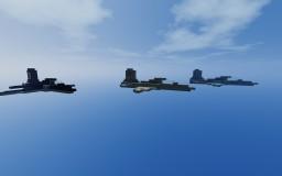 Northrop F-5 + MiG 28 Minecraft Map & Project