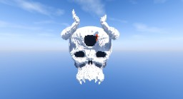Skull from Hage -=-Black Clover-=- Minecraft Project