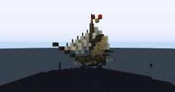 Small Medieval Fishing Boat | Conquest Reforged Minecraft