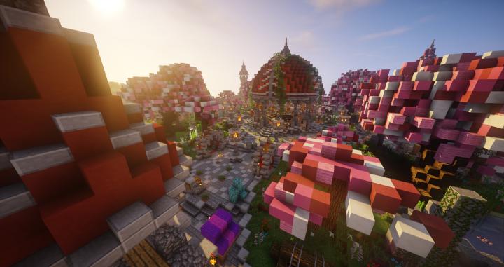 AlaricusBuilds Server Spawn   Download Minecraft Map