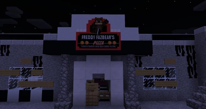 Five Nights at Freddy's (FNaF1 - FNaF6 Maps) Minecraft Project