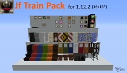 Jf Train and Railway Adapted Texture Pack for 1.12.2 Minecraft Texture Pack