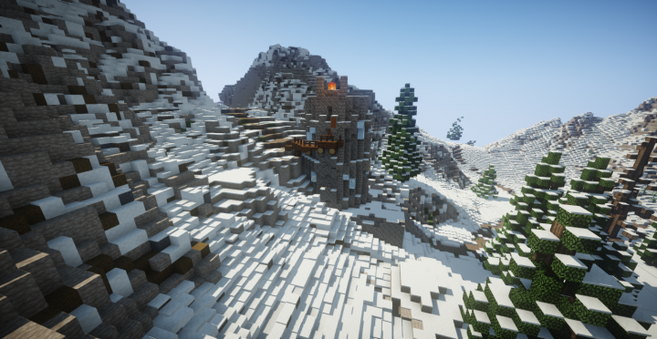 Snowpoint Beacon Skyrim Tes Minecraft Project