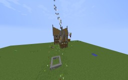 My Rustic House Minecraft Map & Project