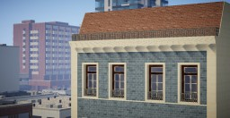 Lisbon Old Town - Residential Building Minecraft Project