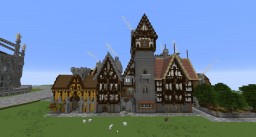A Collection of Gothic Homes Minecraft Project