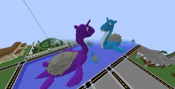 Lapras Statue Minecraft Map & Project