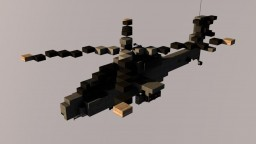 Boeing AH-64 Apache U.S. ARMY 1,5:1 DOWNLOAD Minecraft Map & Project