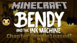 Bendy and The Craft Machine! Minecraft Map & Project
