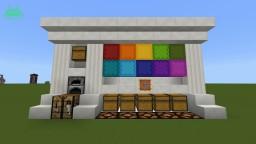 Bedrock Edition Bulk Building Station Minecraft Project