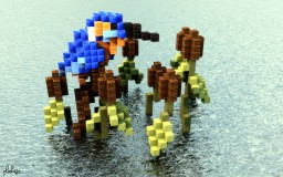 King Fisher Organic Minecraft Project