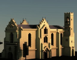 Carmelite Church, Famagusta Minecraft Project