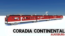 Alstom Coradia Continental Augsburg (440.0) Minecraft Map & Project