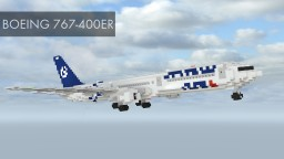 Avteam Boeing 767-400ER Minecraft Map & Project