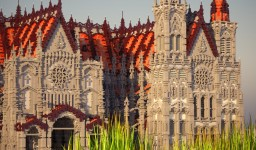 Chartres Cathedral Minecraft Project