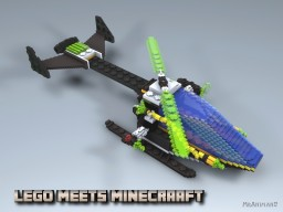 Lego meets Minecraft #1 Minecraft Project