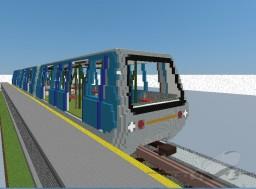 Gatwick shuttle train Minecraft Map & Project
