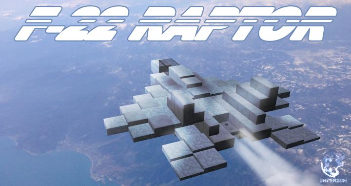 F 22 Raptor Imperiummc Minecraft Project