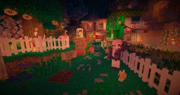 magical home-enchanted oasis-pt 2 Minecraft Project