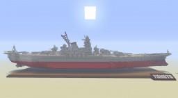 1:1 Scale IJN Yamato (Yamato Class) Battleship Minecraft Map & Project
