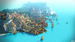 Novigrad TIMELAPSE + Download Minecraft Map & Project