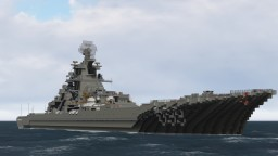 Kirov Class Missile Cruiser Minecraft Project