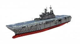 USS Makin Island (LHD-8)  1:1 scale Minecraft Map & Project