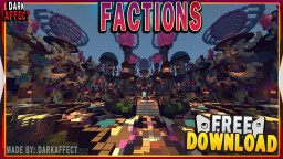 MINECRAFT MAGIC FACTIONS SPAWN WITH FREE DOWNLOAD Minecraft Map & Project