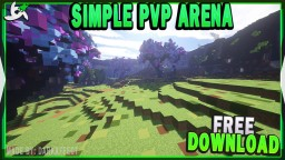MINECRAFT SIMPLE PVP ARENA/FFA FREE DOWNLOAD Minecraft Project