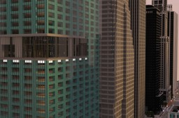 New York Super Loft (Bryant Park, Metlife) Minecraft Project