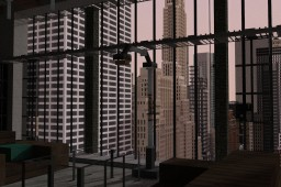 New York Loft (Bryant Park, Metlife) Minecraft Map & Project