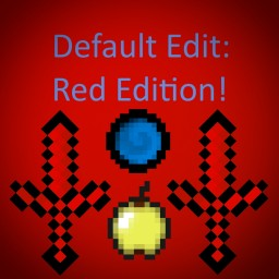 Default PvP RED EDITION Minecraft Texture Pack