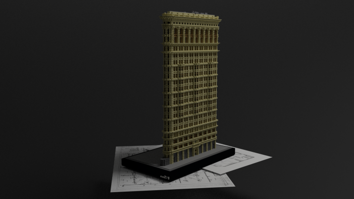 Flatiron Building New York Minecraft Project - Minecraft hochhauser