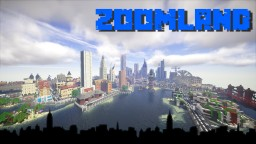 A Minecraft City ZoomLand in development Minecraft