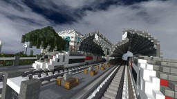 RAILWAY STATION Minecraft Map & Project