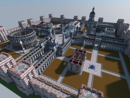 The Roman City of Amphora - Circa 550 AD Minecraft