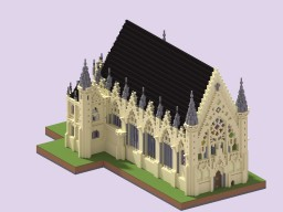 Sainte-Chapelle de Vincennes Minecraft Map & Project