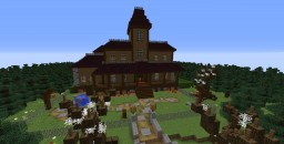 Luigi's Mansion Dark Moon Gloomy Manor Minecraft Map & Project